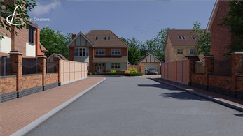 CGI Render of a new property development  by Limitless Creations, Essex