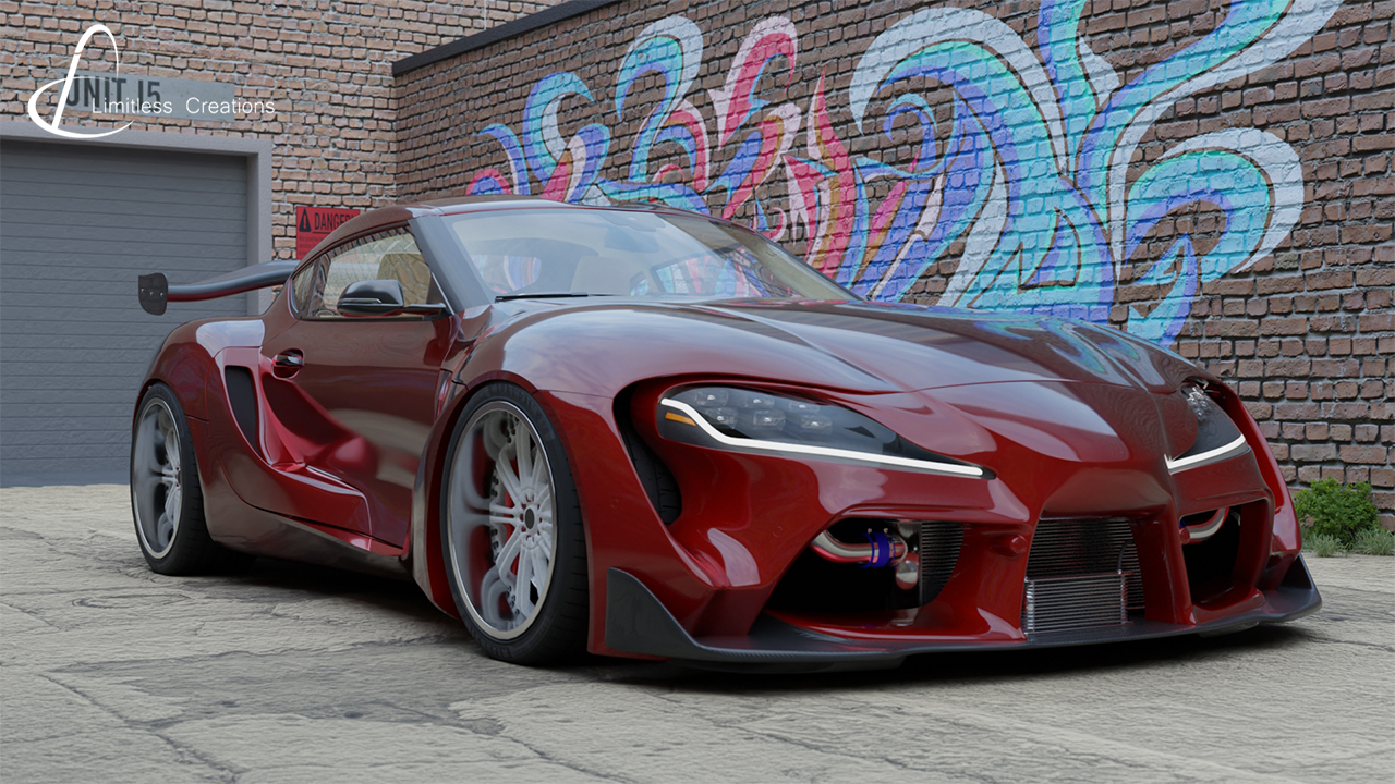 Limitless Creations Supra LC Bodykit Front Angle