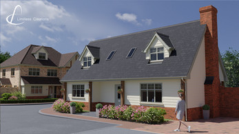 3D visualisation of a new build property for a developer - Limitless Creations, Essex