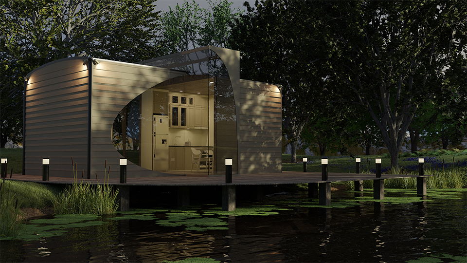 Limitless Creations Lakehouse Garden Room