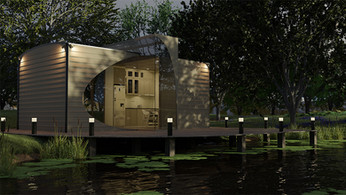 Lakehouse 3d illustration - 3D digital art by Limitless Creations