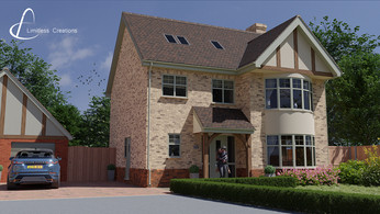 3D visualisation of a property - digital art by Limitless Creations, Essex