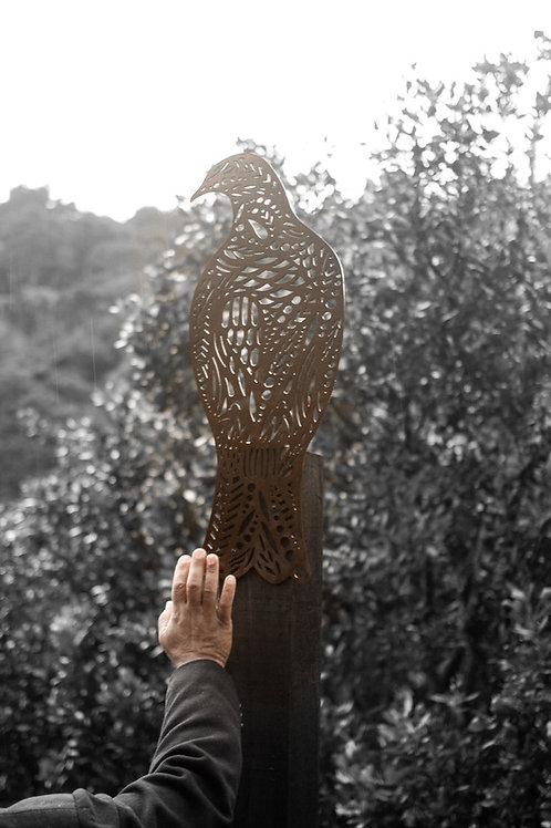 Kereru Corten Sculpture