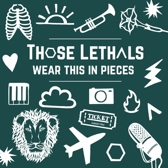 Those Lethals Logo and EP Cover Design