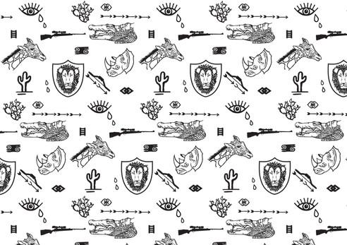 Hunted fabric design