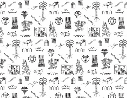 Oman fabric design