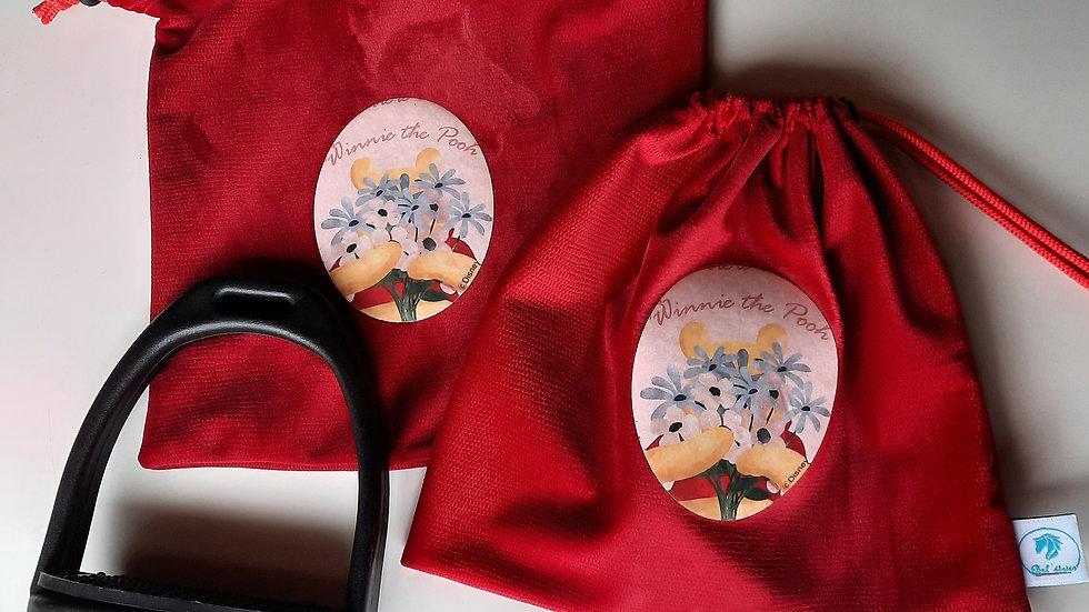 Pochettes d'étriers winnie flowers