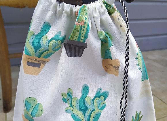 Pochettes d'étriers cactus
