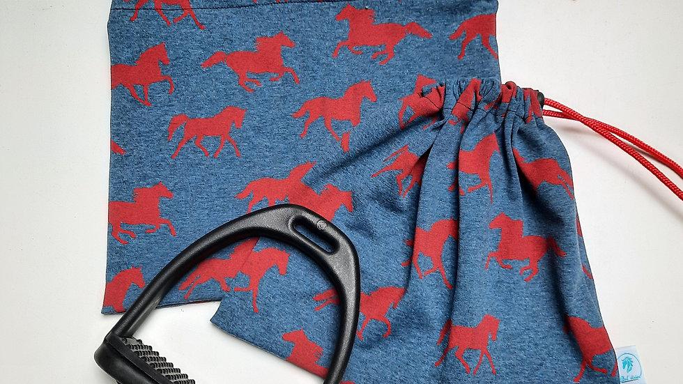 Pochettes d'étriers chevaux