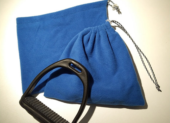 Pochettes d'étriers polaire bleu électrique
