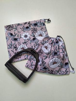 Pochettes d'étriers maxi flowers
