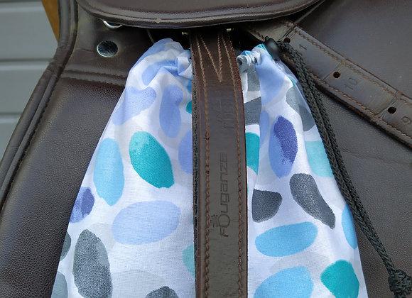 Pochettes d'étriers taches bleues