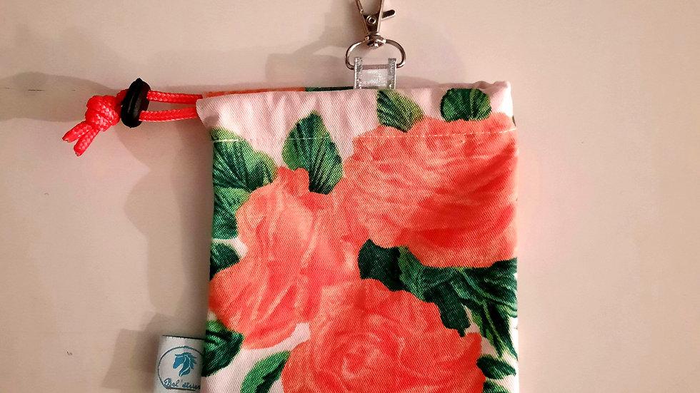 Pochette à friandises roses
