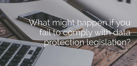 What potential consequences could occur if your organisation fails to comply with data protection legislation? In this video, we explore the various options.