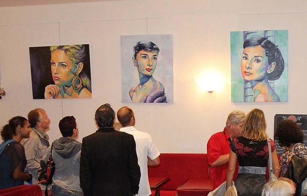 Artiste peintre Olivier Boutin à Marseille, Bouches-du-Rhône