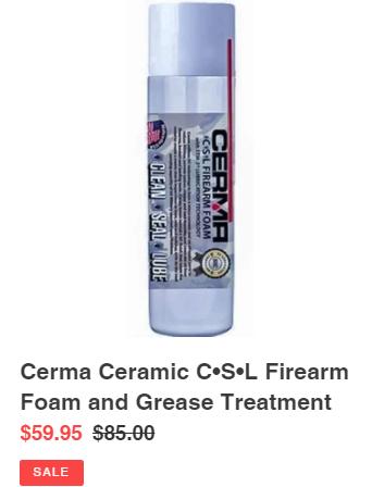 Gun lube/foam