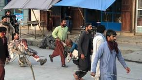 Pentagon: Blast outside Kabul airport, no word on casualties