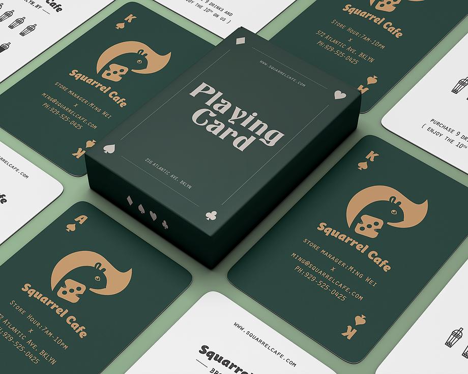 Squarrel Business Cards