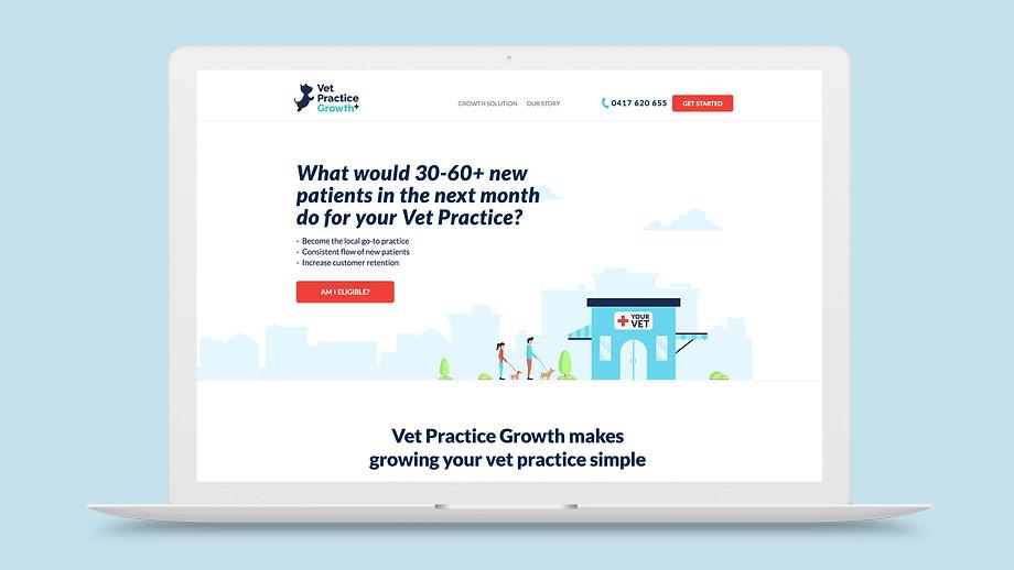 Vet Practice Growth Homepage