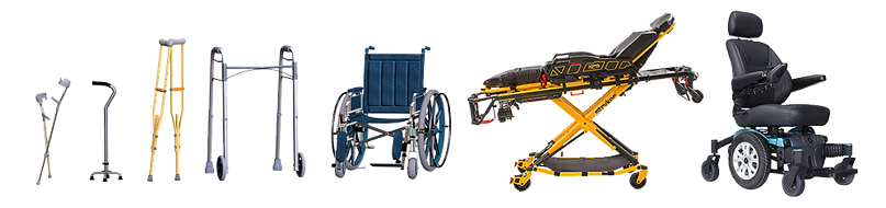 PrimeCare transports wheelchair, stretcher, cain, walker, electric, crutches