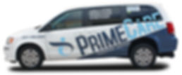 PrimeCare vehicles are clean, green and safe.