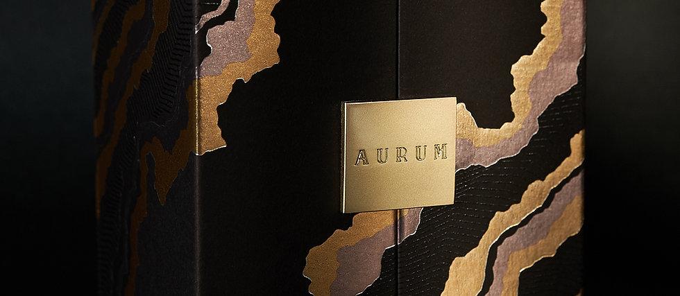 AURUM 23.75k Edible Gold Flakes Gift Set