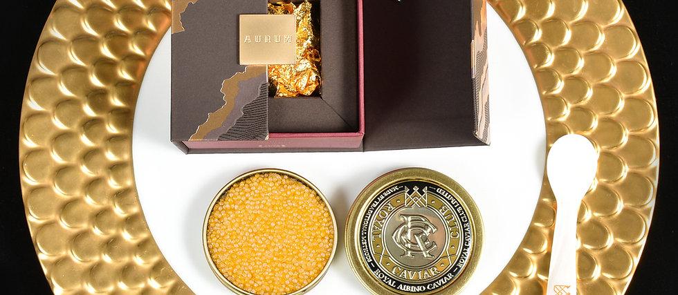 Albino Gold Caviar Gift Set