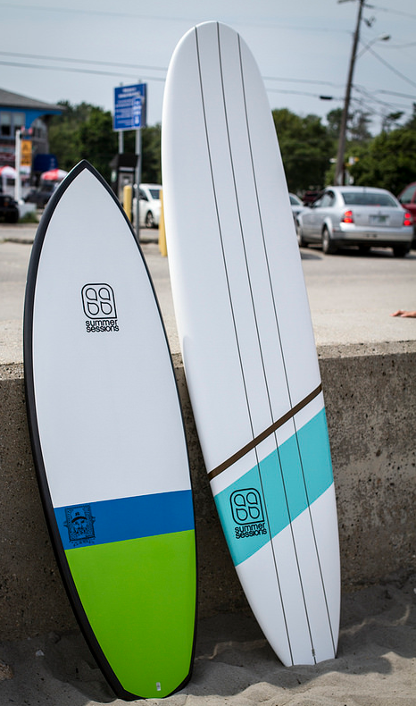 Summer Sessions Label Surfboards