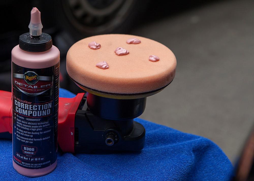 Correction compound, paint enhancement, detailer, protect my car, clean my car