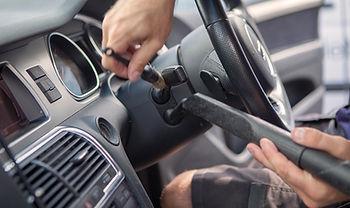 Cleaning steering column