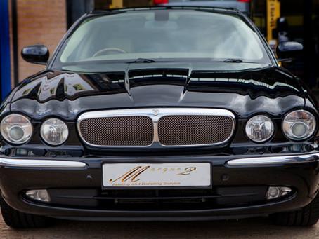 Paint Enhancement to a Jaguar XJ V8