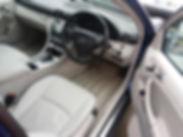 Interior Mercedes interior clean