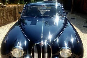 Jaguar after Valeting