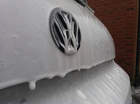 Snow foam to Volkswagon