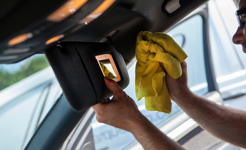 Car valet, detailing, car cleaning cloths, interior car cleaning, valeting car interior