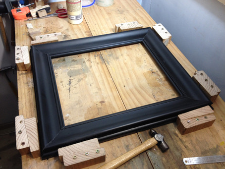 Frame clamping - the old way is best!