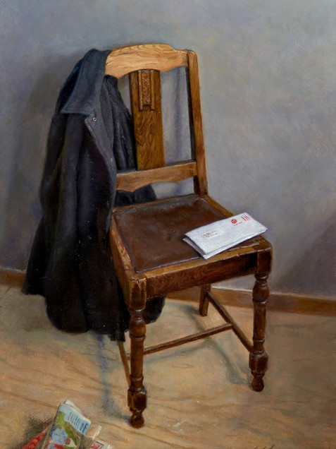 Chair with Jacket
