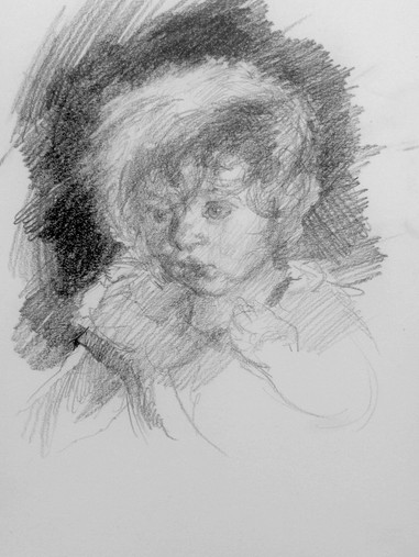 Study of a toddler