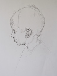 Portrait study of a boy