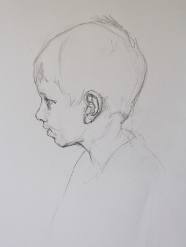Portrait study of a boy