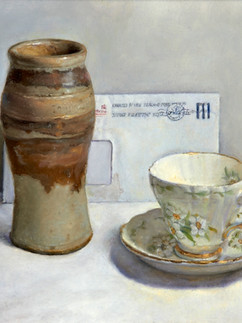 Still life with  tea cup,
