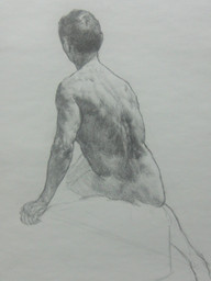 pencil on paper, 370 x 290mm, 2017