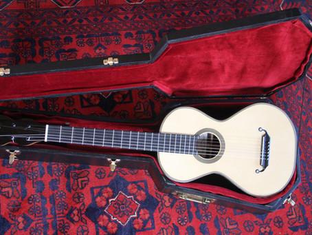 Making a 19th century romantic guitar