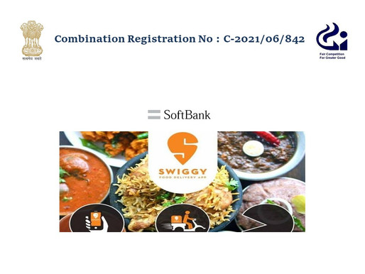 CCI approves SoftBank's $450 Mn investment in Swiggy