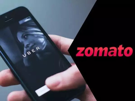 Uber made a billion dollars from Zomato's listing, without spending a single penny