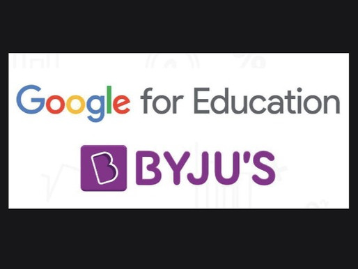 Byjus and Google partner up to offer learning solution to schools