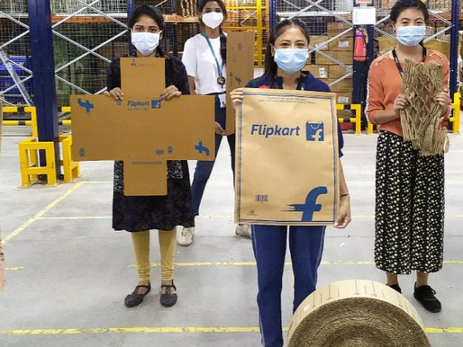 Flipkart eliminates single-use plastic packaging throughout supply chain