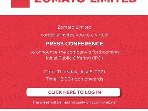 Zomato to launch IPO on July 14