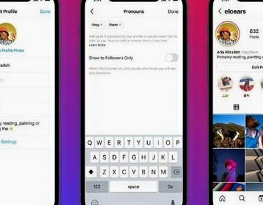 Instagram latest feature will now let users add pronouns ontheir profiles
