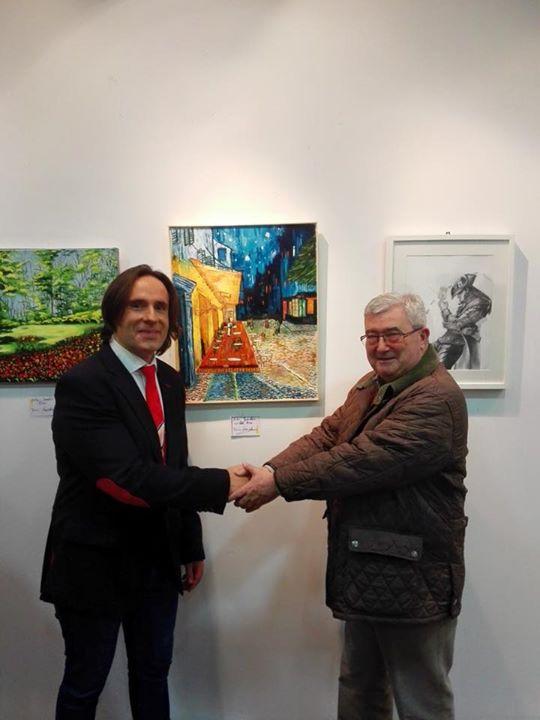Facebook - Con José Luis de Arce y su obra